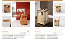 Bedside cabinets Homelike design and flexibility - 5