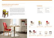 Tables and chairs - 2
