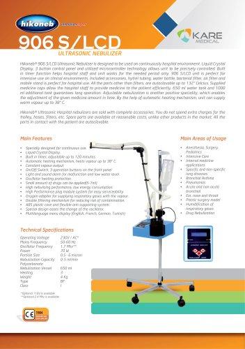 906 S/LCD ULTTRASONIC NEBULIZER