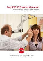 SDM 60 Diagnosis Microscope