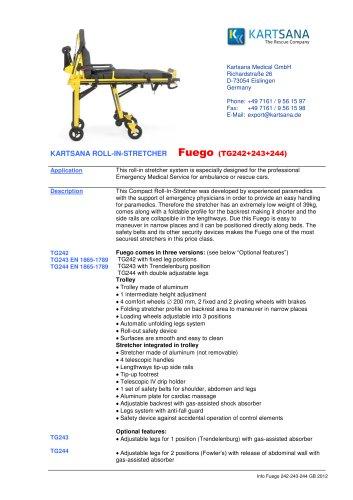 FUEGO 242/243/244