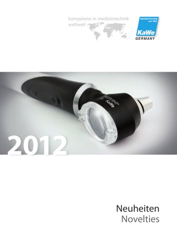 Novelties 2012