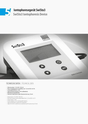 SwiSto3 Iontophoresis Device