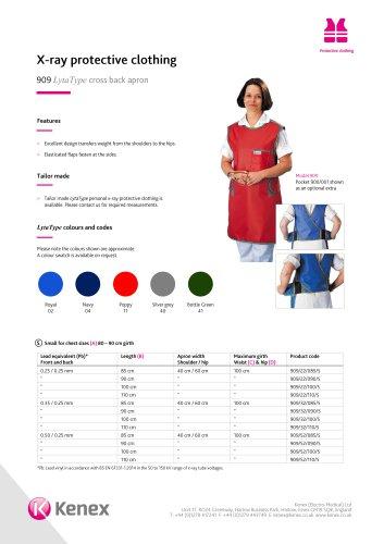 LytaType cross back apron 909/911