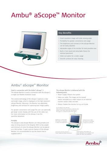 Ambu®  aScope™ Monitor