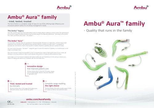Ambu® Aura™ family