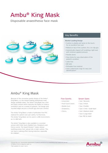Ambu® King Mask