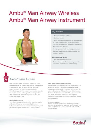 Ambu® Man Airway