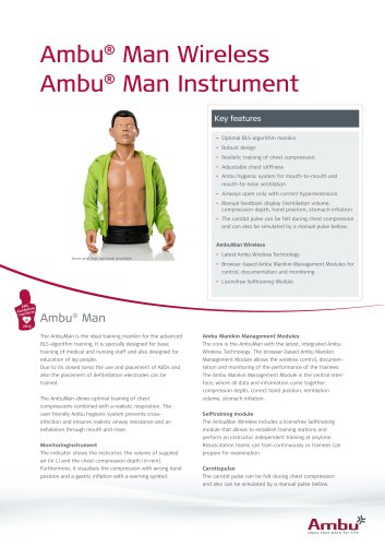 Ambu® Man Wireless_Instrument