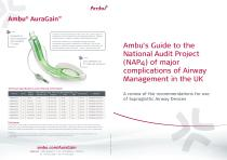 Ambu's Guide to the National Audit Project (NAP4) of major complications of Airway Management in the UK