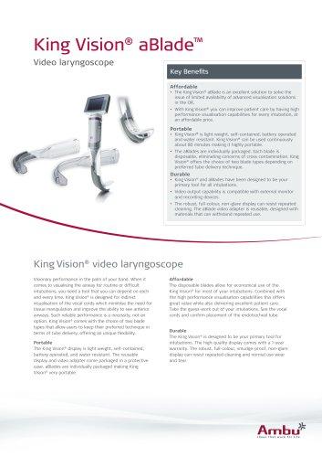King Vision® aBlade