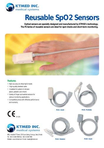 SpO2 Reusable Sensors
