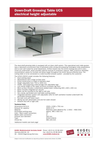 Dual working table with height adjustable