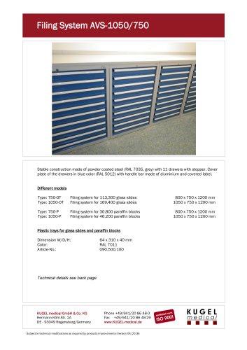 Filing System AVS-1050/750