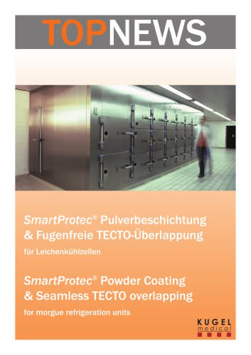 SmartProtect Powder Coating & Seamless TECTO overlapping