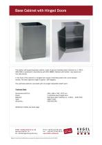 STAINLESS STEEL FURNITURE AND ACCESSORIES - 3