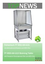 TOP News FT 850-AK-ULS Staining Table - 1