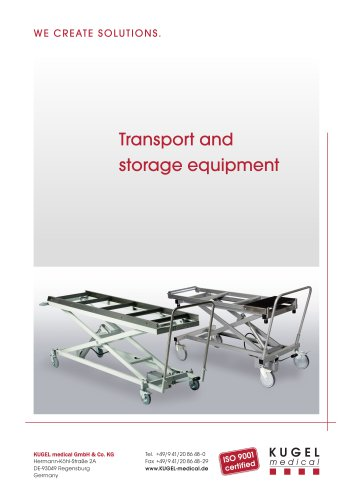 TRANSPORT AND STORAGE EQUIPMENT