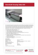 Wall mounted sink table - 1