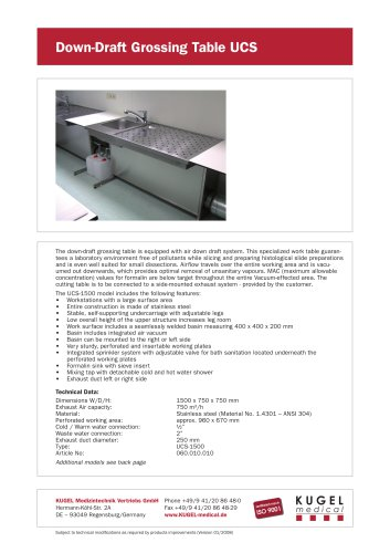 Wall mounted sink table