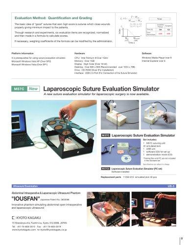 M57C Laparoscopic Suture Evaluation Simulator