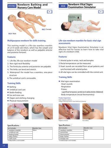 M5963 Newborn Bathing and Nursery Care Model