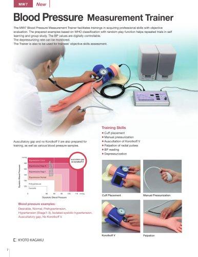MW7 Blood Pressure Meseament Trainer