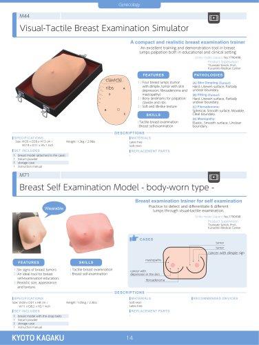 Visual-Tactile Breast Examination Simulator