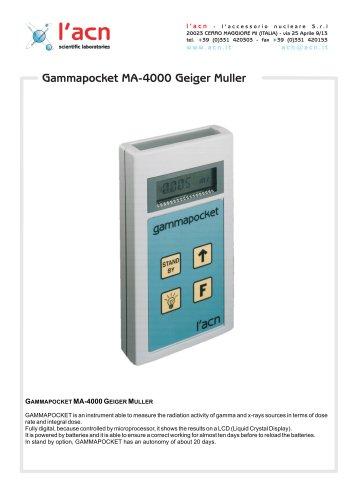 Monitor/Dosimeter Gammapocket