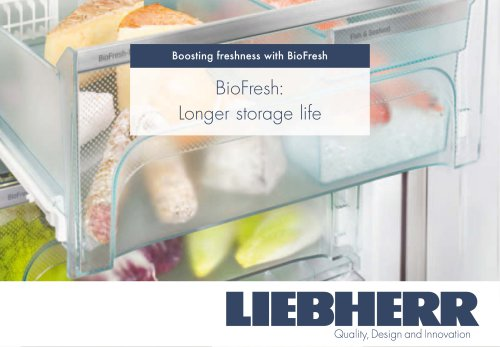 BioFresh: Longer storage life