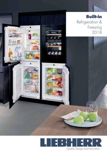 Built-in Refrigeration & Freezing 2018