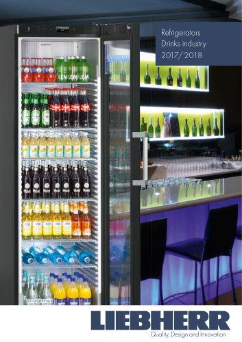 Refrigerators Drinks industry 2018
