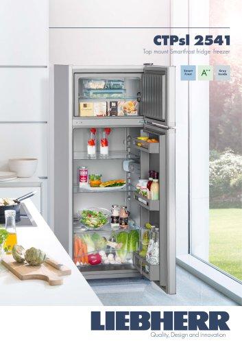 Top mount SmartFrost fridge - freezer
