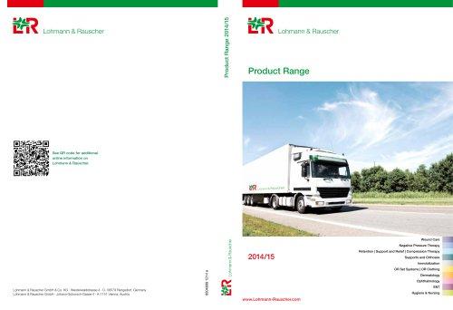 Product Range 2014/15