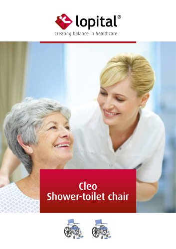 Cleo Shower-toilet chair