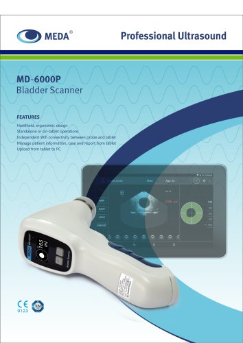 MD-6000P Bladder Scanner