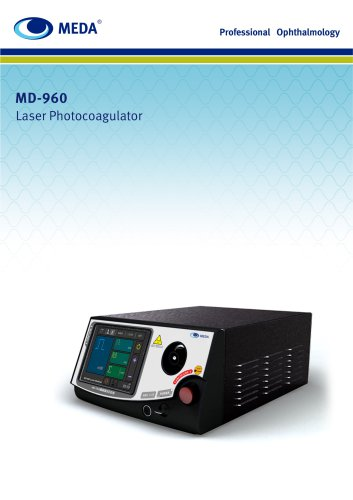 MD-960 Photocoagulator