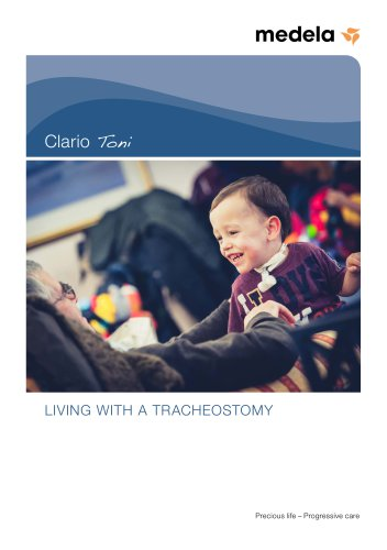 Booklet Medela Clario Toni: Living with a tracheostomy