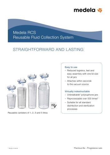 Brochure Medela RCS (Reusable Fluid Collection System)