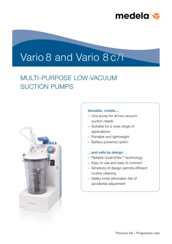 Brochure Portable Suction Pump for minor surgery