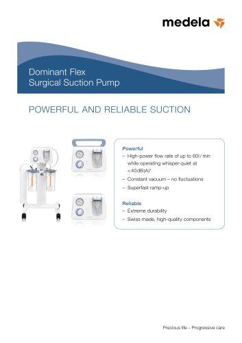 Dominant Flex Surgical Suction Pump