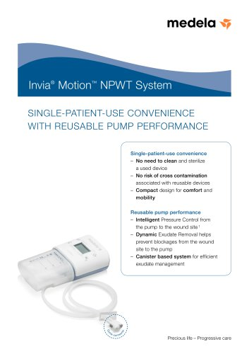 Invia Motion NPWT System