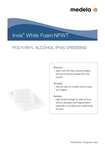 Invia White Foam NPWT