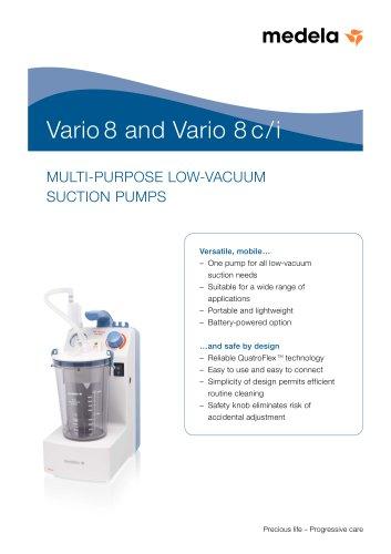 Vario 8 and Vario 8 c/i