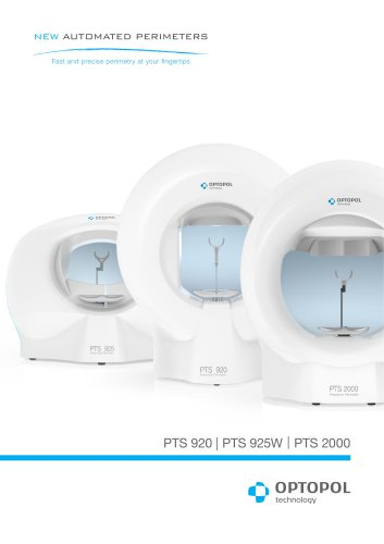 PTS 920 / PTS 925W / PTS 2000