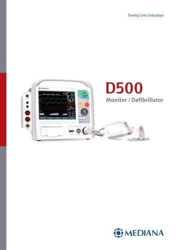 Defibrillator / Monitor -D500