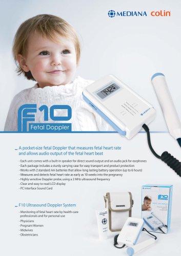 Fetal dopplers - F10