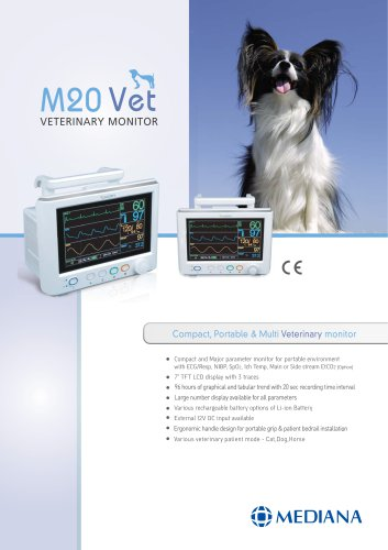 VETERINARY MONITOR - M20 Vet