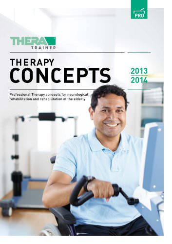 Professional Therapy concepts for neurological rehabilitation and rehabilitation of the elderly