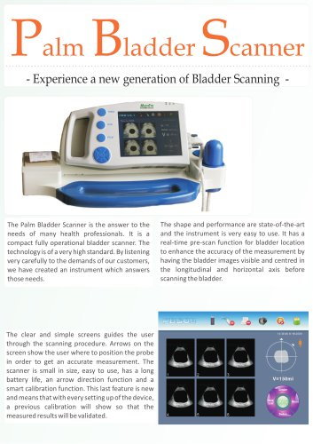 Palm Bladder Scanner